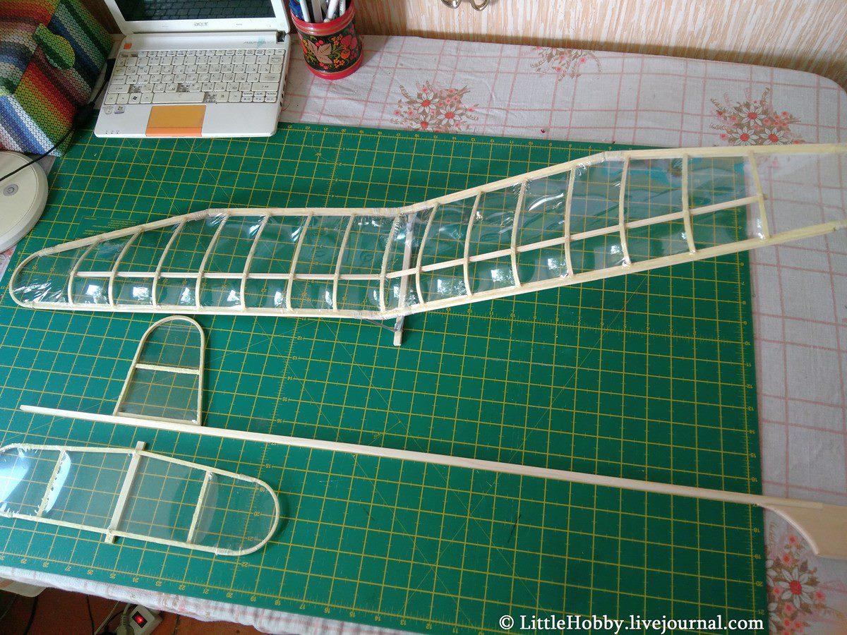 Собираем схематическую модель планера: littlehobby — LiveJournal